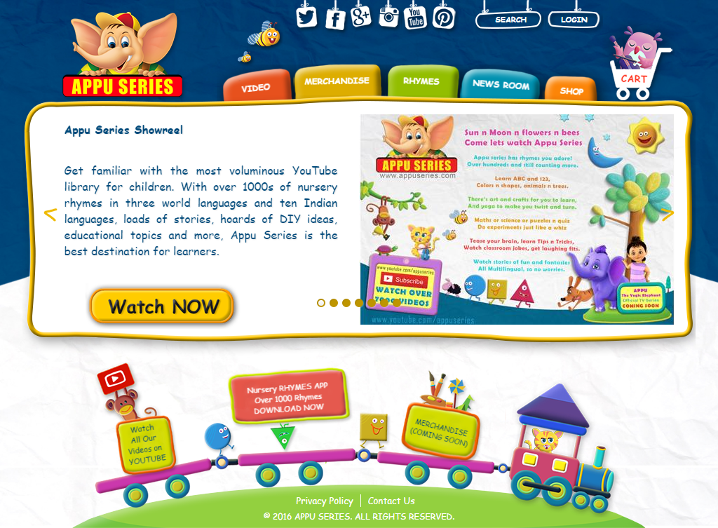 Online / Mobile Content for Kids